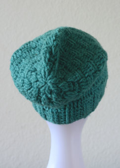 Monjo_Beanie_Turquoise_Back